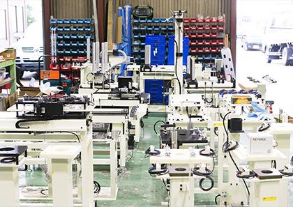 生産ラインの自動化
